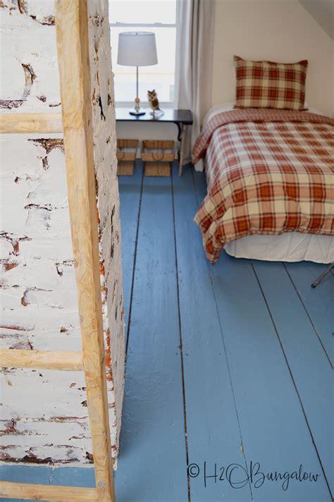 paint wood floors beautifully   hobungalow