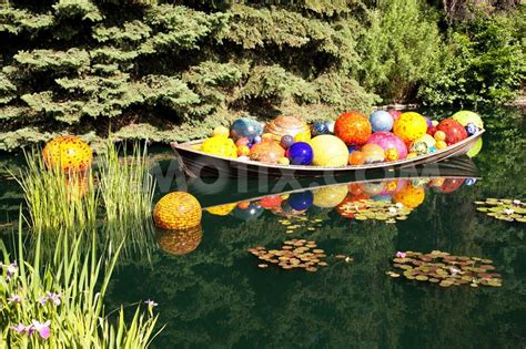 Botanical Gardens Glass Exhibit Chihuly Glass In The Gardens