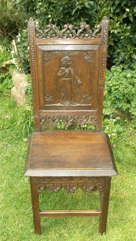 Oak Antique Chairs by Antique Period Oak Carved Chair Antiques Atlas