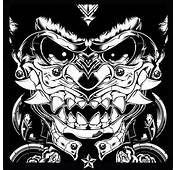 Black And White Samurai Mask  Helmets Masks Pinterest