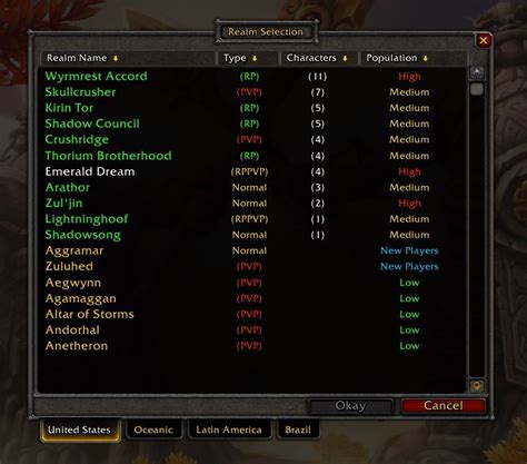 best wow server how to get a world of warcraft account
