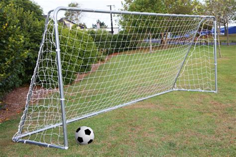 soccer goal backyard backyard soccer field outdoor furniture design and ideas
