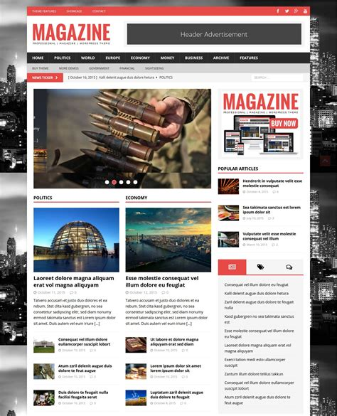 design magazine theme 50 best wordpress magazine themes templates design