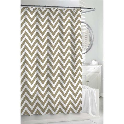 Chevron Shower Curtains Chevron Shower Curtain Gracious Style