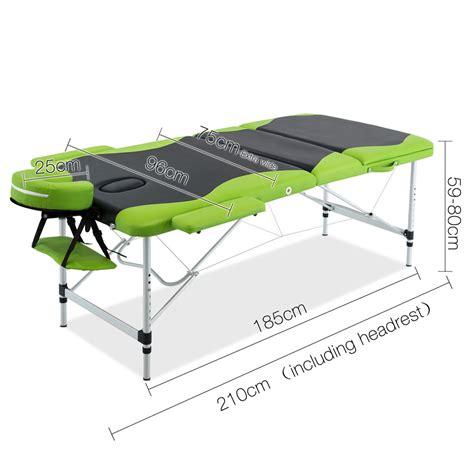 table 3 green buy aluminium table 3 fold green black at