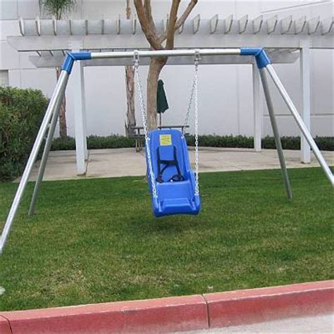 special needs swing set jennswing ada compliant for children with special needs