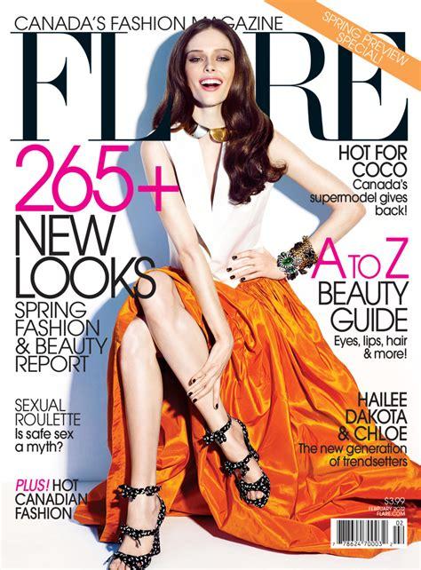 canadian celebrity magazines flare magazine canada cover 2012