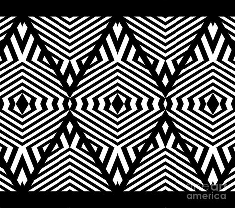 pattern artist black and white op art black white pattern print no 336 digital art by
