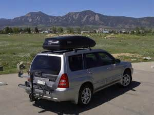 Subaru Roof Box Thule Ascent 1600 Review Subaru Forester Owners Forum