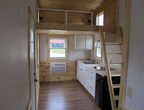 180 Sq. Ft. Tiny House For Sale with Extra 64 Sq. Ft. Loft