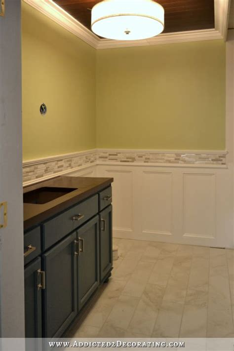 wainscot tile diy recessed panel wainscoting judges paneling