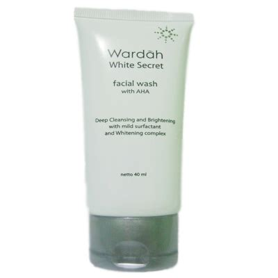 Wardah Wash Secret 2 wardah white secret wash jakarta kosmetika