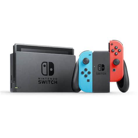 Original Nintendo Switch Con Controller Blue nintendo switch with neon blue neon con controllers nintendo uk store