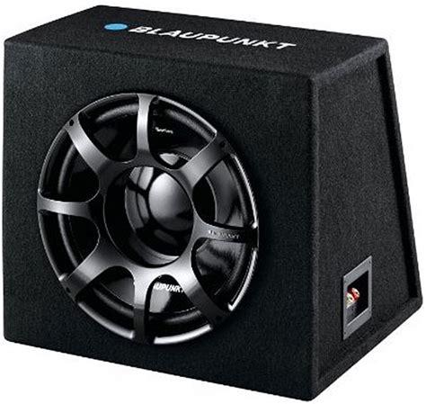 Speaker Subwoofer Blaupunkt blaupunkt gtb 1200 de in car boxed subwoofer in car connections