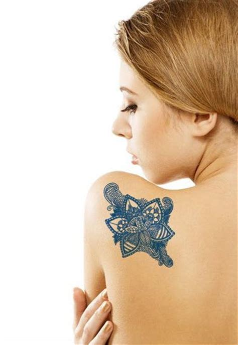 blue henna tattoo delft blue flower tattooforaweek temporary tattoos