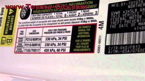 Zafiara Maroon By Fnd Labels 2011 toyota camry tire pressure how to by toyota