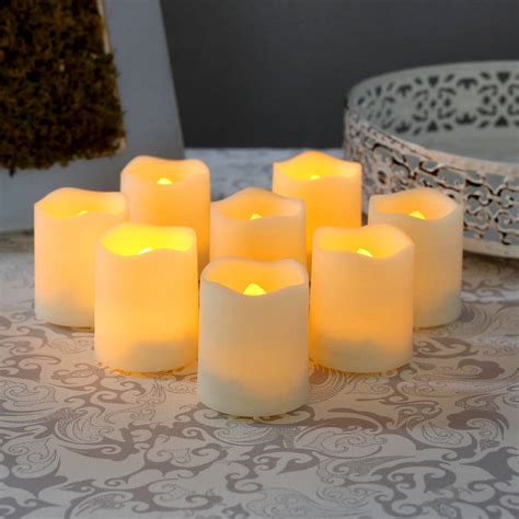 flameless tea lights with remote flameless tea lights votives flameless