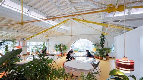 design hub greenhouse cafe metropolis magazine covering architecture culture design
