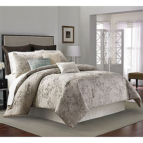 Manor Hill 174 Serenade Comforter Set Bed Bath Beyond Bed Bath Beyond Comforter Sets