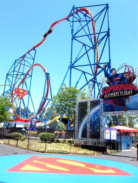 Busch Gardens Maryland premier rides in the news a tale of two nfl coaches baltimore and superman ultimate flight