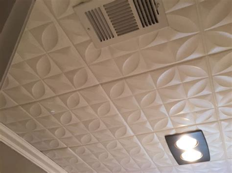Decorative Foam Ceiling Tiles by Bathroom Dct Gallery