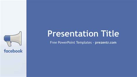free facebook advertising powerpoint template prezentr