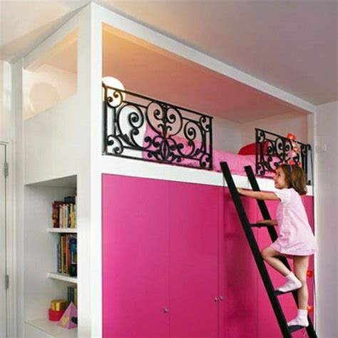 Childrens Bed With Wardrobe Underneath by Cool Loft Bed By Francine This Is Awesome Closet