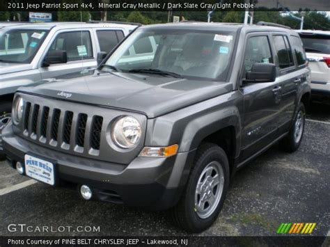gray jeep patriot mineral gray metallic 2011 jeep patriot sport 4x4
