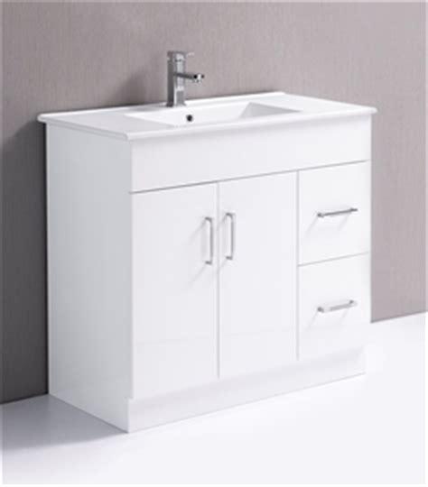 900mm Bathroom Vanity Unit 900mm Bathroom Vanity Unit High Gloss Finish Ceramic Basin Auction Grayswine Australia