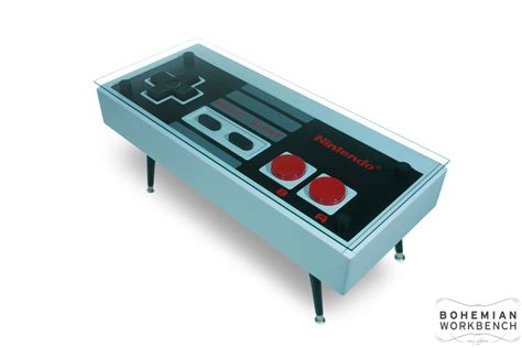 nintendo controller coffee table original functional
