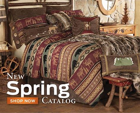 Rustic Quilts Clearance by Cabin Decor And Cabin Bedding Black Forest D 233 Cor
