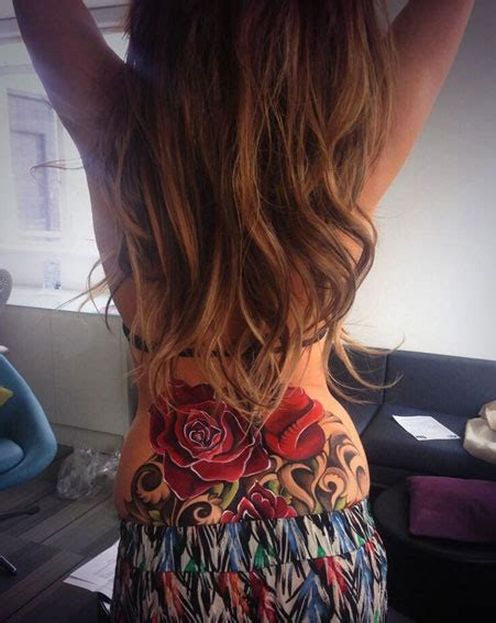 cheryl cole rose tattoo top 20 craziest tattoos of in 2016 pics