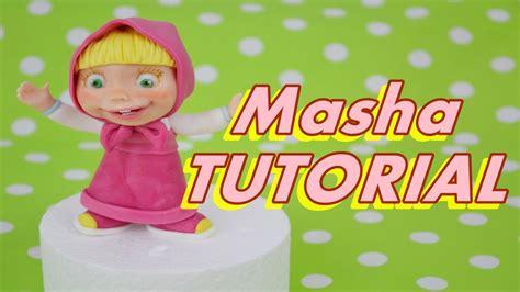 tutorial piano masha and the bear tutorial masha and the bear cake topper fondant torta