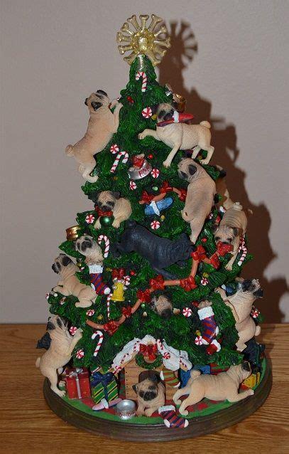 pug christmas tree pug tree i totally need this pugs pug trees and trees