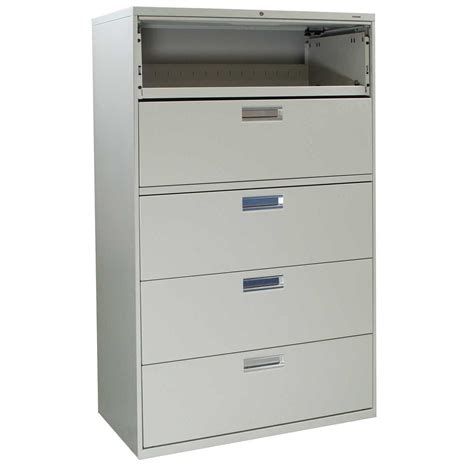 Hon 42 Lateral File Cabinet Hon 600 Series 42 4 Drawer Lateral Metal Filing Cabinet