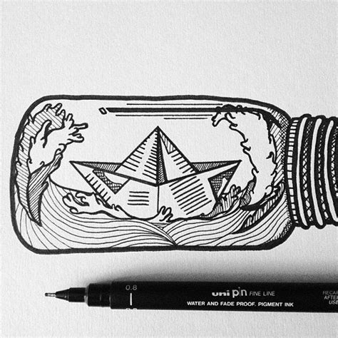 boat drawing tattoo boat in a bottle tattoo cerca con google tattoos