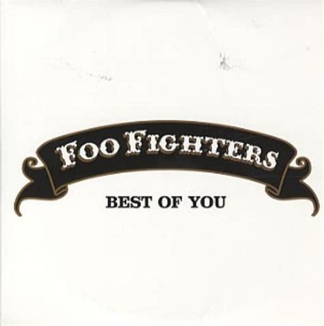 foo fighters the best of you foo fighters best of you uk promo cd single cd5 5