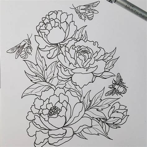 tattoo outline pen 1333 best images about printable grayscale coloring pages