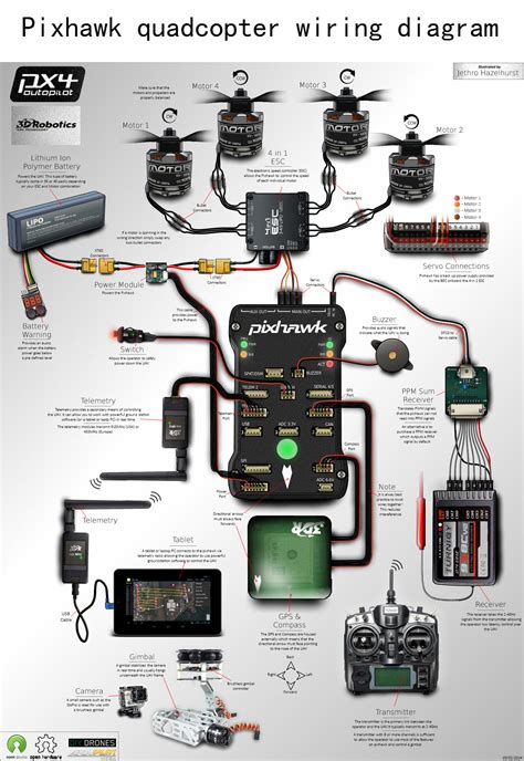 quadcopter wiring diagram guide diy quadcopter