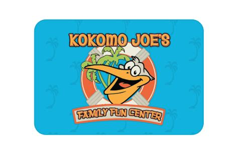 Funny Gift Cards To Buy - gift cards kokomo joe s family fun center where families play
