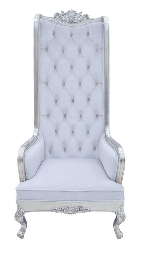 Victorian Leather Armchair Luxury Wedding Event Lounge Furniture King And Queen