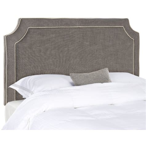 Upholstered Headboard by Safavieh Dane Upholstered Headboard Reviews Wayfair