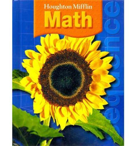 houghton mifflin mathmatics student edition level 2 2002 books houghton mifflin math houghton mifflin company