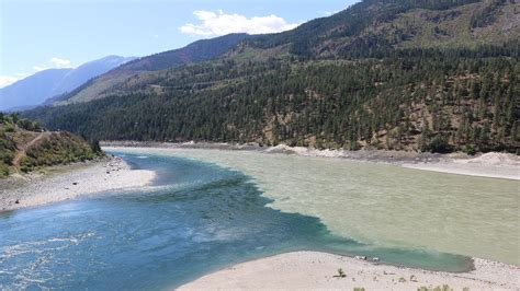 Mba Thompson River Canada by Lytton The Confluence Of The Fraser And Thompson Rivers