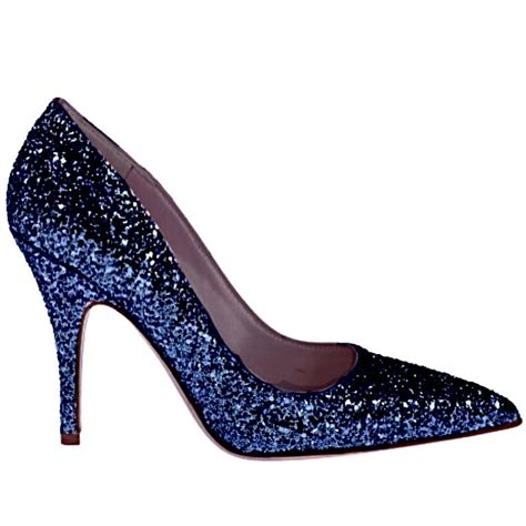 blue sparkly shoes for s sparkly glitter heels pointed toe pumps shoes