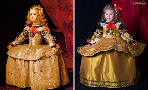 children   syndrome recreate famous paintings