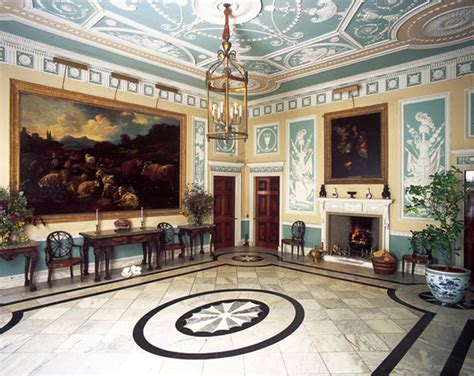 event design yorkshire the entrance hall newby hall