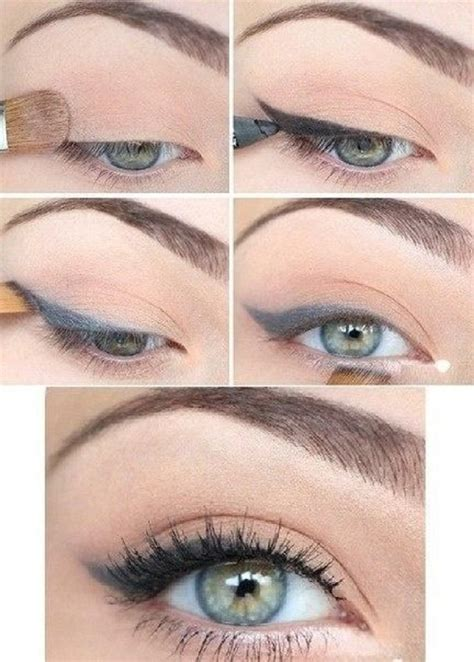 natural makeup tutorial for blue eyes top 10 easy natural eye makeup tutorials