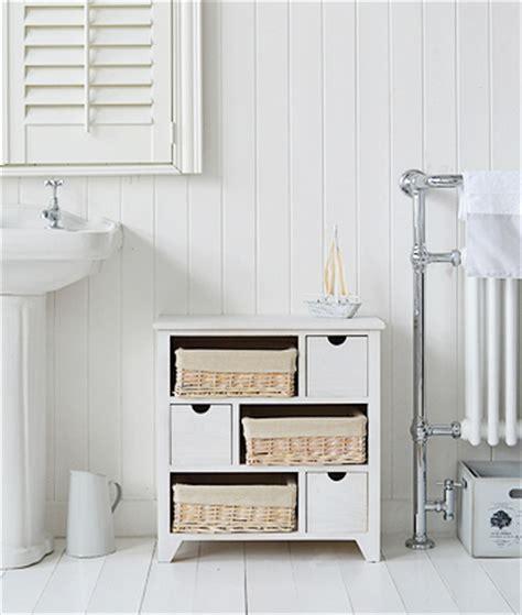 Bathroom Drawers The Range Cape Cod White Bathroom Storage Furnitue With 6 Drawers