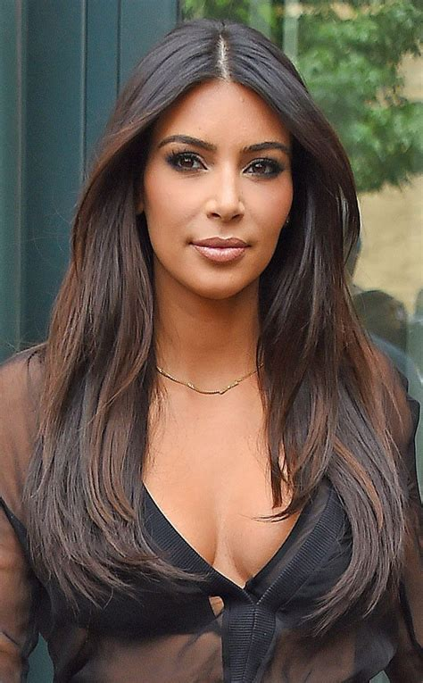 middle part and short layers pretty ways to style a middle part middle